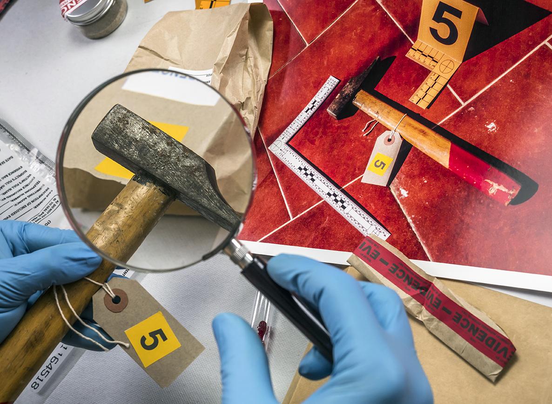 Zajišťování důkazních materiálů